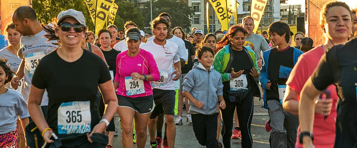 Runners at Start