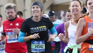 NYC Marathon LIVESTRONG
